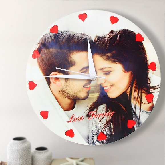 Personalised Photo Wall Clock