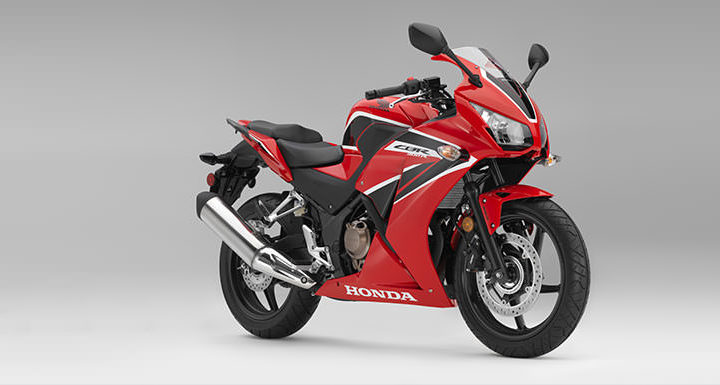 Returning to Motorcycling on a Honda CBR300 Sportbike